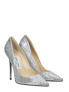 Jimmy Choo Decollete Argento