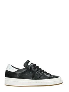 Philippe Model-Sneakers Lakers  in pelle bianca