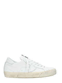 Philippe Model-Sneakers Bercy in tessuto bianco