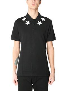 Givenchy-Polo in cotone nero