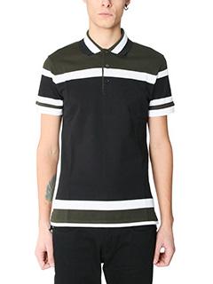 Givenchy-Polo in cotone nero khaky
