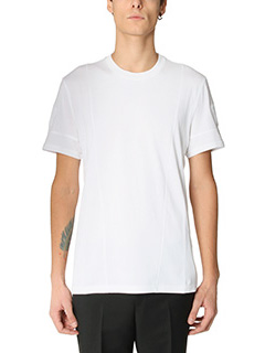 Givenchy-T-Shirt Regular in cotone bianco