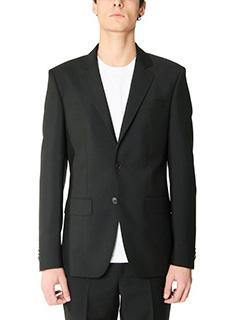 Givenchy-Blazer in lana nera