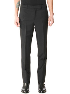 Givenchy-Pantaloni in cr�pe nera
