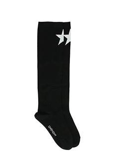 Givenchy-Calzini Socks Logo in cotone nero