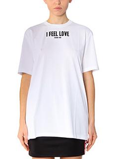 Givenchy-white cotton t-shirt
