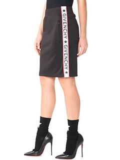 Givenchy-black polyester skirt