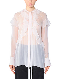 Givenchy-Blusa in seta skin