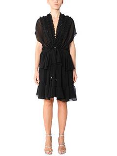 Givenchy-Vestito in seta nera