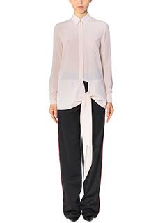 Givenchy-Blouse beige silk shirt