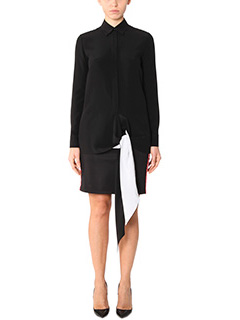Givenchy-Blouse  black silk shirt