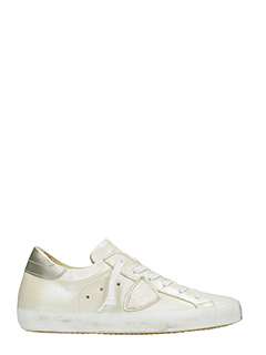 Philippe Model-Sneakers Classic in pelle platino