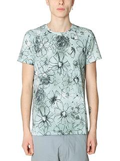 Jil Sander-T-Shirt in cotone grigio
