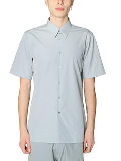 Jil Sander-Camicia Classic in cotone grigio