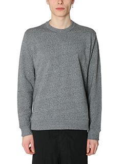 Kenzo-Felpa Kenzo Skate  in cotone grigio melage