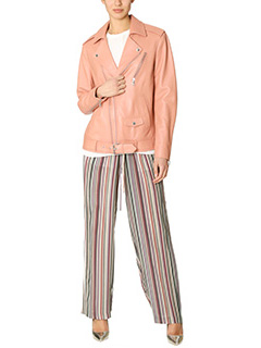 Theory-Tralsmin pink leather outerwear