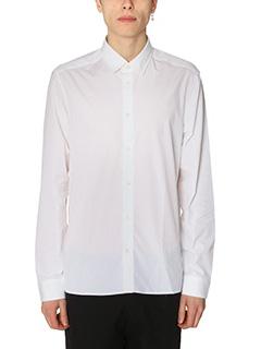 Kenzo-Camicia Nasa in cotone bianco