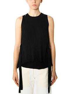 Helmut Lang-black wool topwear