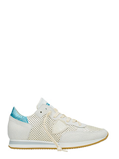 Philippe Model-Sneakers Tropez in pelle bianca