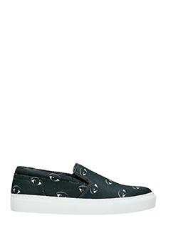 Kenzo-Sneakers Eye in tessuto nero