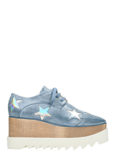 Stella McCartney-Stringate Elyse Stars in alter nappa celeste
