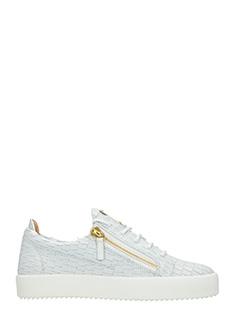 Giuseppe Zanotti-Sneakers Low in pelle bianca