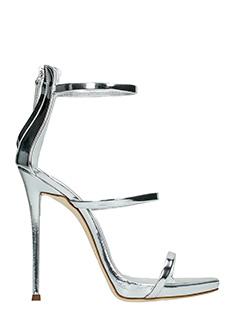 Giuseppe Zanotti-Coline 110 silver leather sandals
