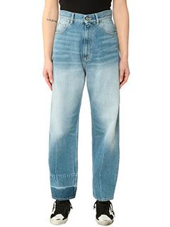 Golden Goose Deluxe Brand-Jeans Kimy in denim azzurro