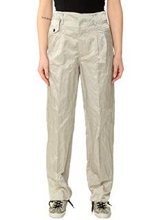 Golden Goose Deluxe Brand-Pantaloni Moore in viscosa beige
