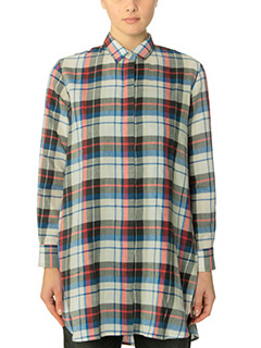 Golden Goose Deluxe Brand-Pacific red cotton shirt