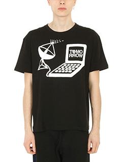 Stella McCartney-T-Shirt Tomorrow in cotone nero