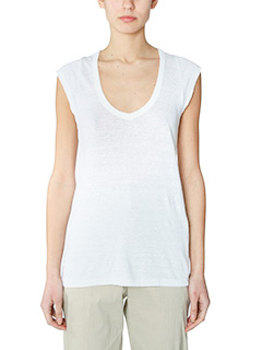 Isabel Marant Etoile-Kentow white cotton topwear