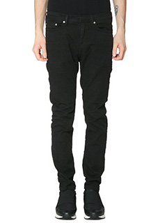 Neil Barrett-Jeans Skinny Fit Regular in denim nero
