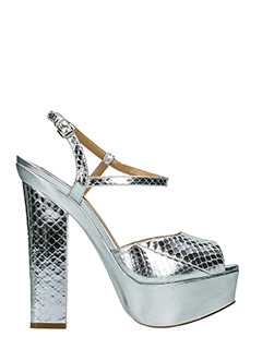 Dsquared 2-Ziggy silver leather sandals