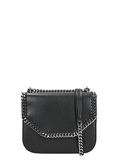 Stella McCartney-Borsa Falabella Mini Box in ecopelle nera