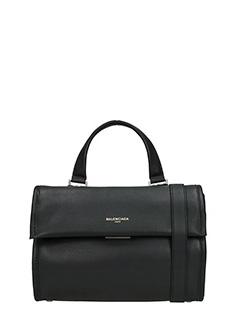Balenciaga-Borsa Tool Satchel Small in pelle nera