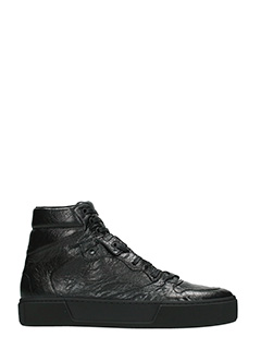 Balenciaga-Sneakers in pelle nera