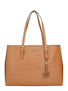 Michael Kors-Borsa Jet Set Travel in saffiano cuoio
