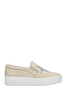 Michael Kors-Sneakers Pia Slip On in pelle beige