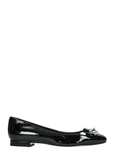 Michael Kors-Gloria ballet black patent leather ballet flats
