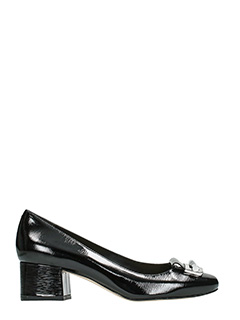 Michael Kors-Decollet� Gloria Mid Pump in vernice nera