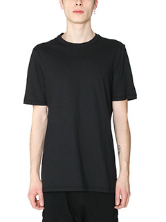 Helmut Lang-T-Shirt Standard Fit in cotone  nero