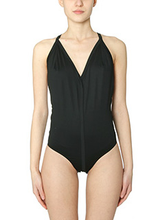 Rick Owens-Halter black polyamide beachwear