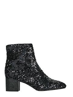 Marc Ellis-black leather ankle boots