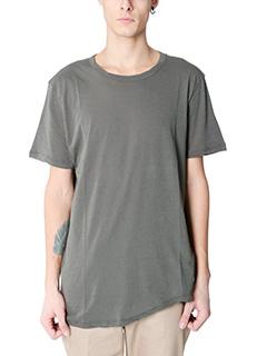 Valentino-T-Shirt Basic in jersey grigio