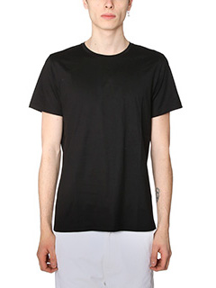Jil Sander-T-Shirt in cotone nero