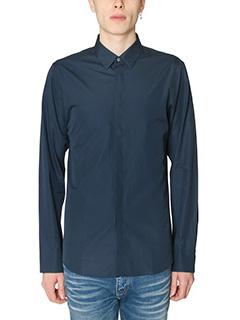 Jil Sander-Camicia Classic in cotone blue