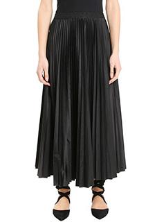 Theory-Dorothea black polyester skirt