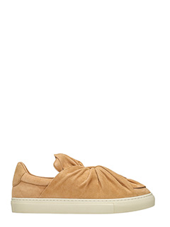 PORTS 1961-Sneakers Bow in camoscio cuoio