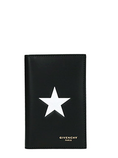 Givenchy-Portafogli Billf 6 CC  in pelle nera